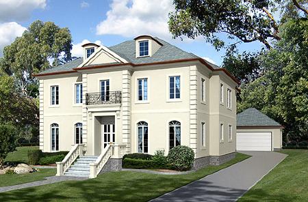 фасадный декор, варианты отделки фасада